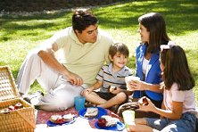 Enjoy a wholesome family picnic at one of our various fruit farms