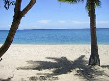 The view from your paradise island accommodation