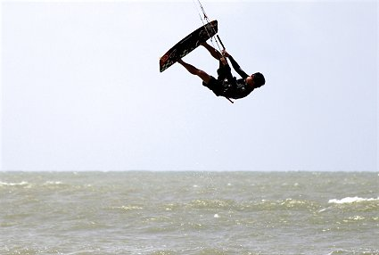 Getting air in Tanjung Resang