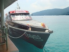 Book your Tioman ferry online
