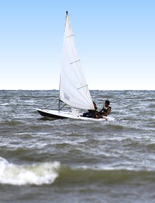 Our regular seabreezes make sailing fun, exciting and great exercise too!