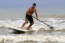 From flat water to decent surf, Malaysia Sea Sports offers a variety of SUP conditions