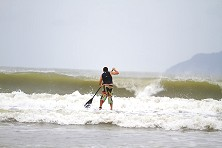 SUP experts get stoked when surf's up at Malaysia Sea Sports